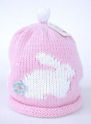 Load image into Gallery viewer, Merry Berries - 'Bunny' Pink/white Hat
