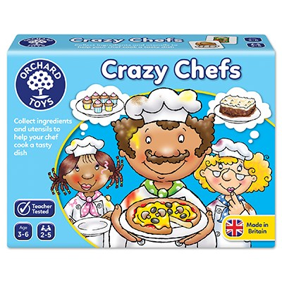 Load image into Gallery viewer, Orchard Toys - Crazy Chefs