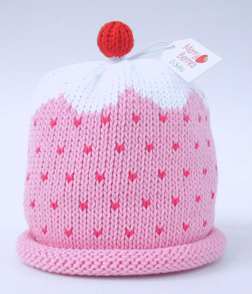 Merry Berries - 'Pink Cupcake' Hat