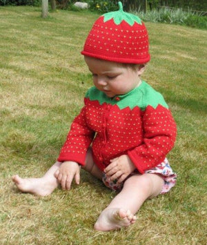 Load image into Gallery viewer, Merry Berries -  'Strawberry' Hat