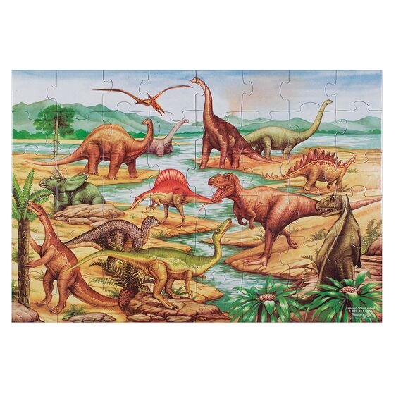 Melissa and Doug - Dinosaur Floor Jigsaw 48pc