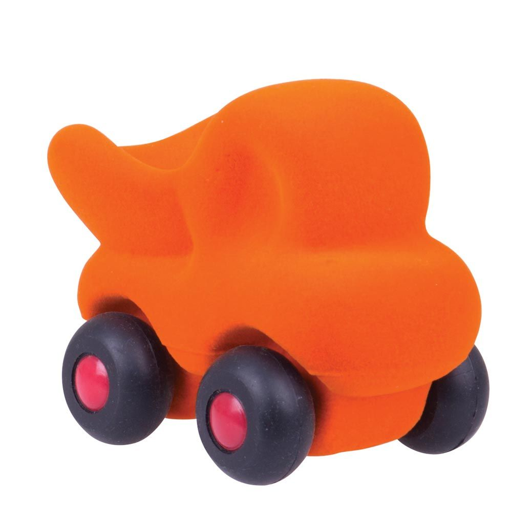 Rubbabu - Cleanupper The Micro Dumo Truck - Orange