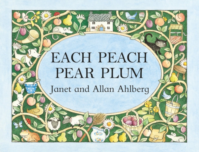 Load image into Gallery viewer, Each Peach Pear Plum by Janet and Allan Ahlberg - Board Book