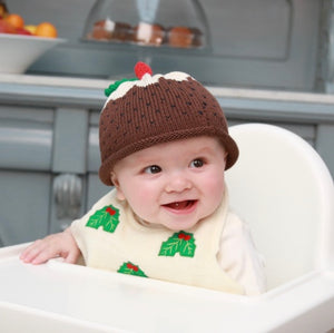 Merry Berries - 'Christmas Pudding' Hat