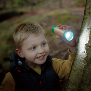 Hape - Nature Fun Hand-powered Flashlight