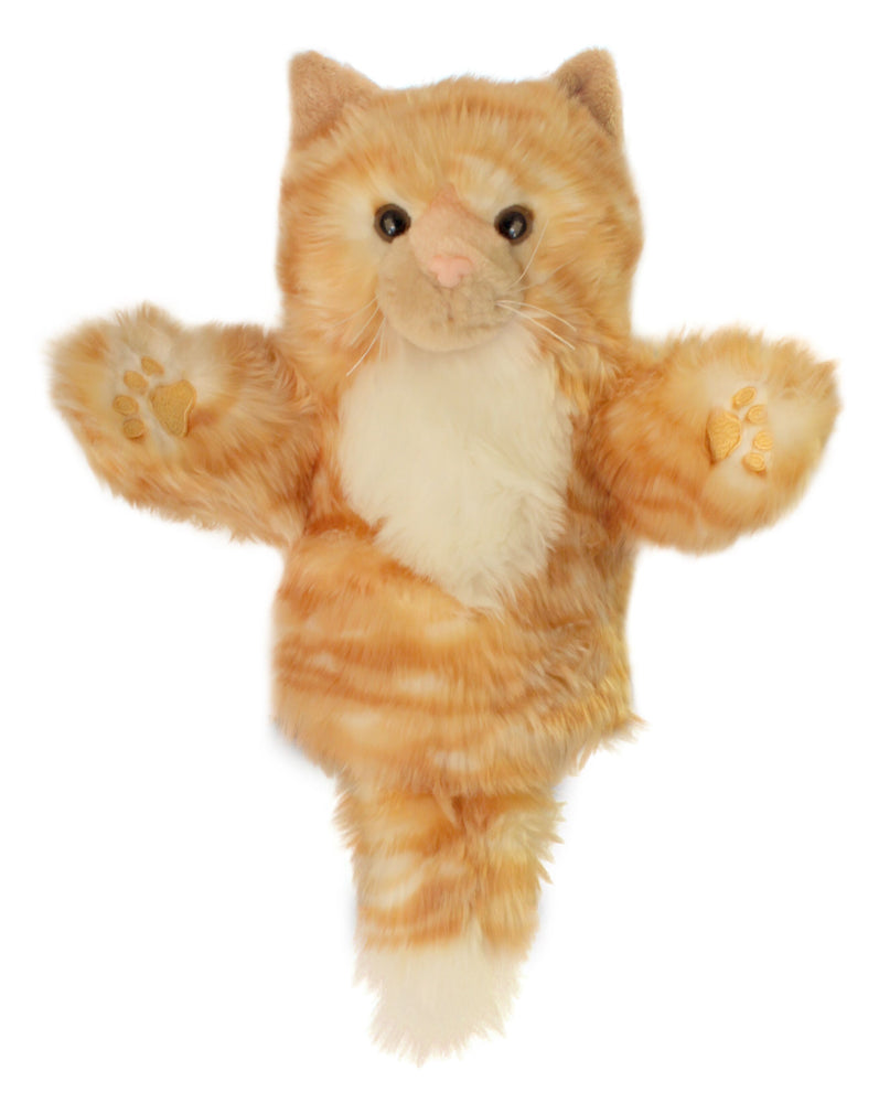 CarPet Glove Puppet - Ginger Cat