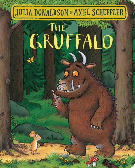 The Gruffalo Board Book by Julia Donaldson