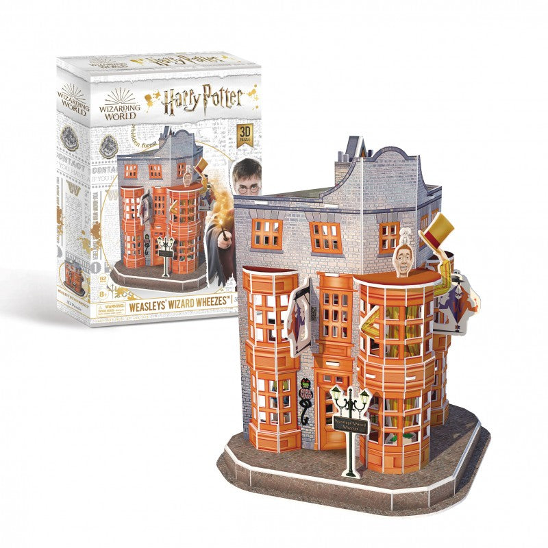 Load image into Gallery viewer, Harry Potter 3D Puzzle Diagon Alley Weasleys Wizard Wheezes