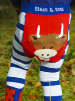 Blade and Rose - Highland Cow Leggings