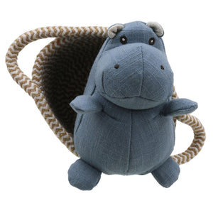 Wilberry - Pet in a Basket Hippo