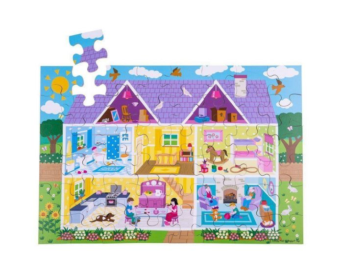 BigJigs - Dolls House Floor Puzzle