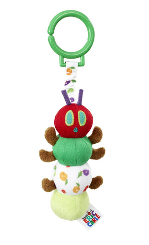 Tiny Caterpillar Jiggle Attach Toy (Very Hungry Caterpillar)