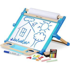 Melissa and Doug - Table Top double sided easel