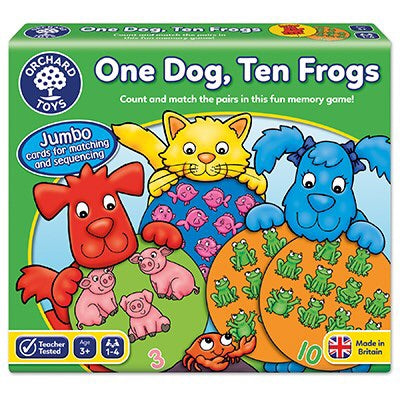 Orchard Toys One Dog - Ten Frogs