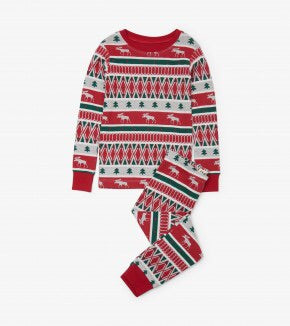 Hatley Winter Fair Isle PJ