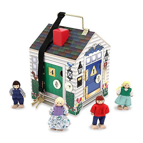 Melissa and Doug doorbell house