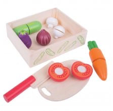 Load image into Gallery viewer, Melissa and Doug - Cutting Veg Crate