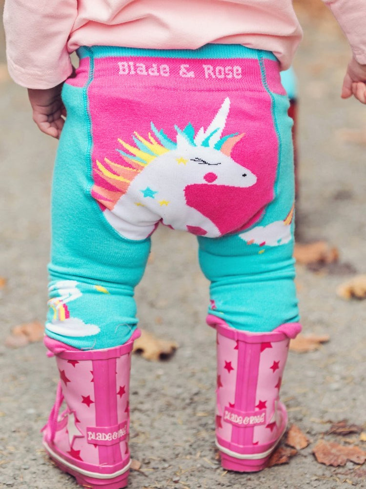 Blade and Rose - Flying Unicorn Leggings