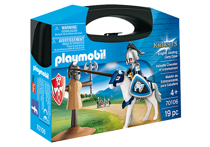 Playmobil - Knights Jousting Carry Case