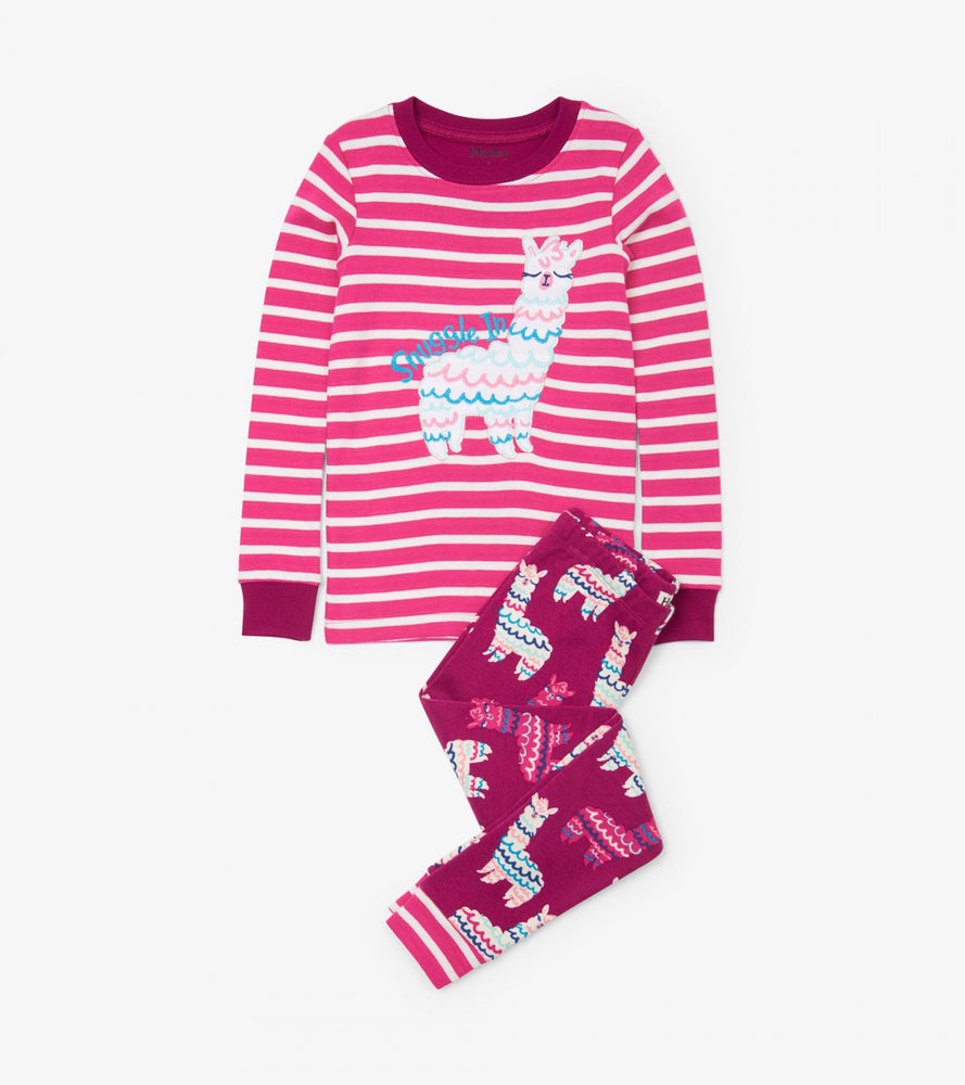 Hatley Alpacas Applique pyjamas