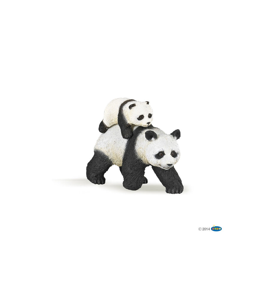 Papo - Panda with Baby