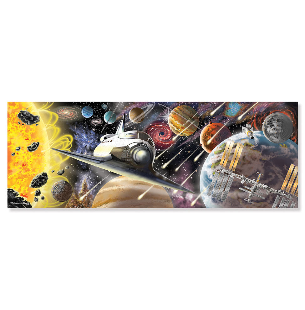 Melissa and Doug - 200 Piece Exploring Space World Puzzle