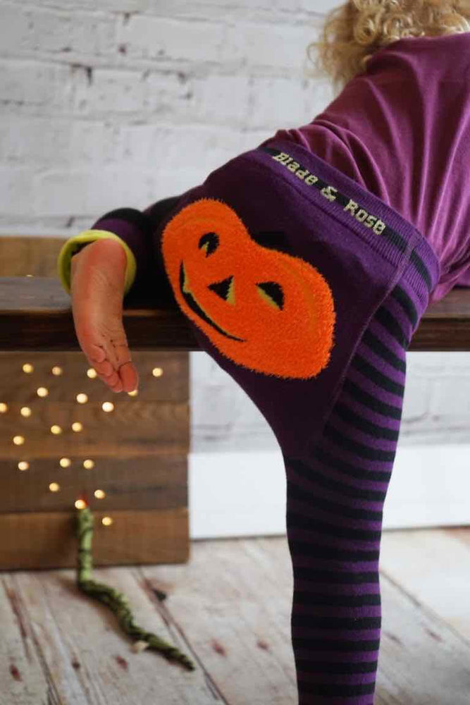 Load image into Gallery viewer, Blade and Rose - Pumpkin Leggings