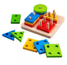 Bigjigs - Four Shape Sorter