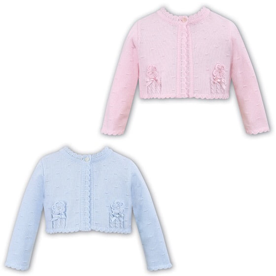 Sarah Louise Blue Cardigan 006701B