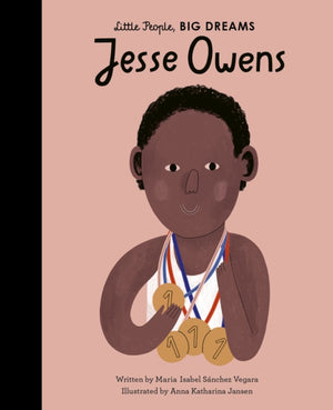 Load image into Gallery viewer, Jesse Owens by Maria Isabel Sanchez Vegara