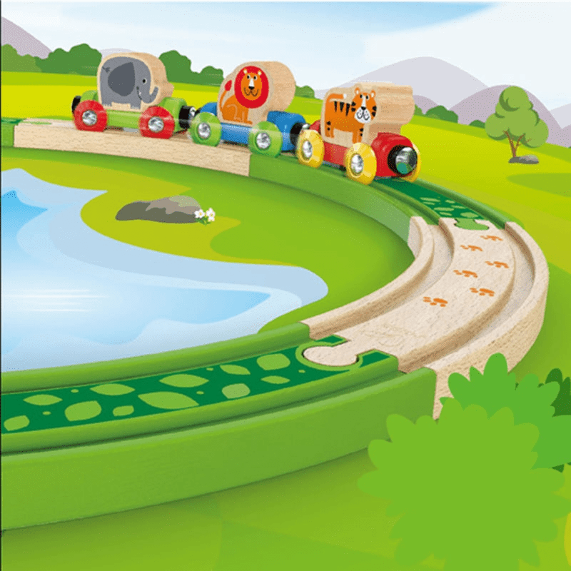 Hape - Deep Jungle Track Pack