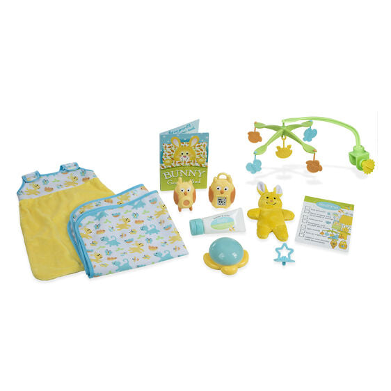 Melissa and Doug - Mine to Love Bedtime Play Set