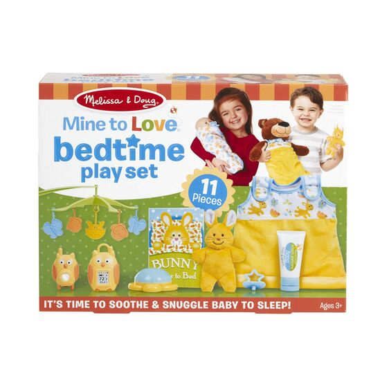 Load image into Gallery viewer, Melissa and Doug - Mine to Love Bedtime Play Set