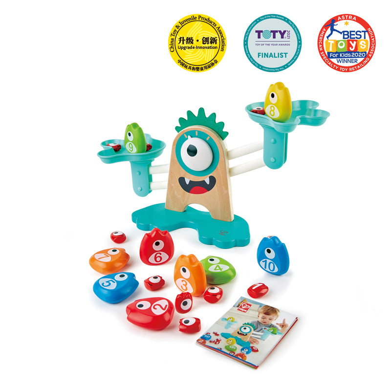 Hape - Monster Maths Scale