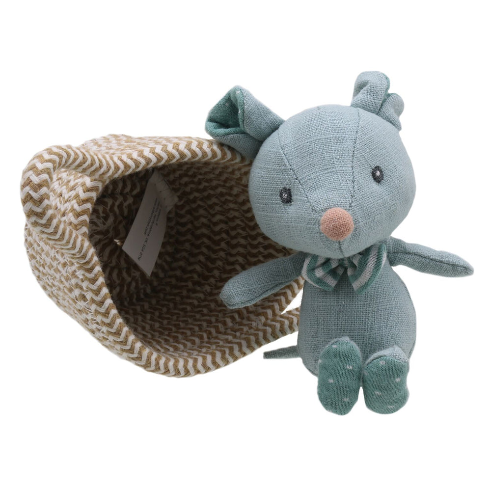 Wilberry - Pet in a Basket Mouse