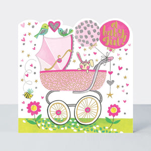 Load image into Gallery viewer, A Baby Girl - Card