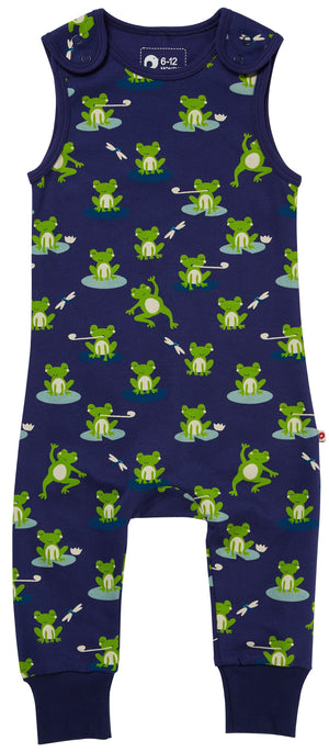 Load image into Gallery viewer, Piccalilly Frog Dungarees