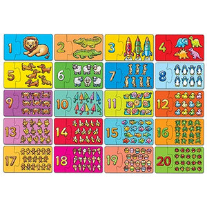 Orchard Toys -  Match and Count Jigsaw