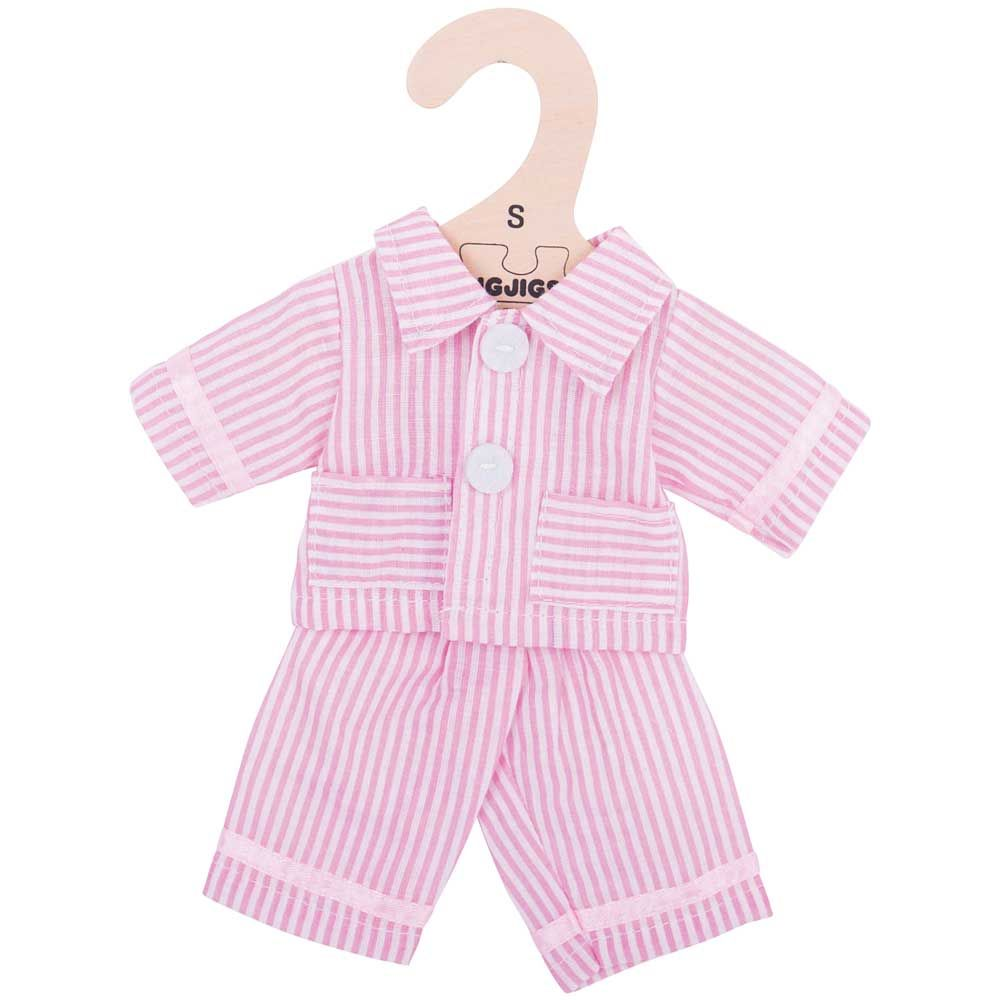 Bigjigs - Pink Pyjamas (for 28cm Doll)