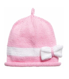 Merry Berries - Pink Bow Hat