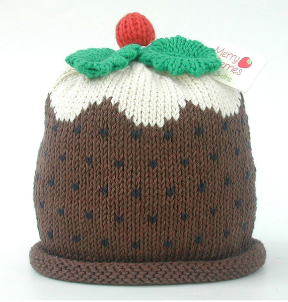 Merry Berries 'Christmas Pudding' Hat