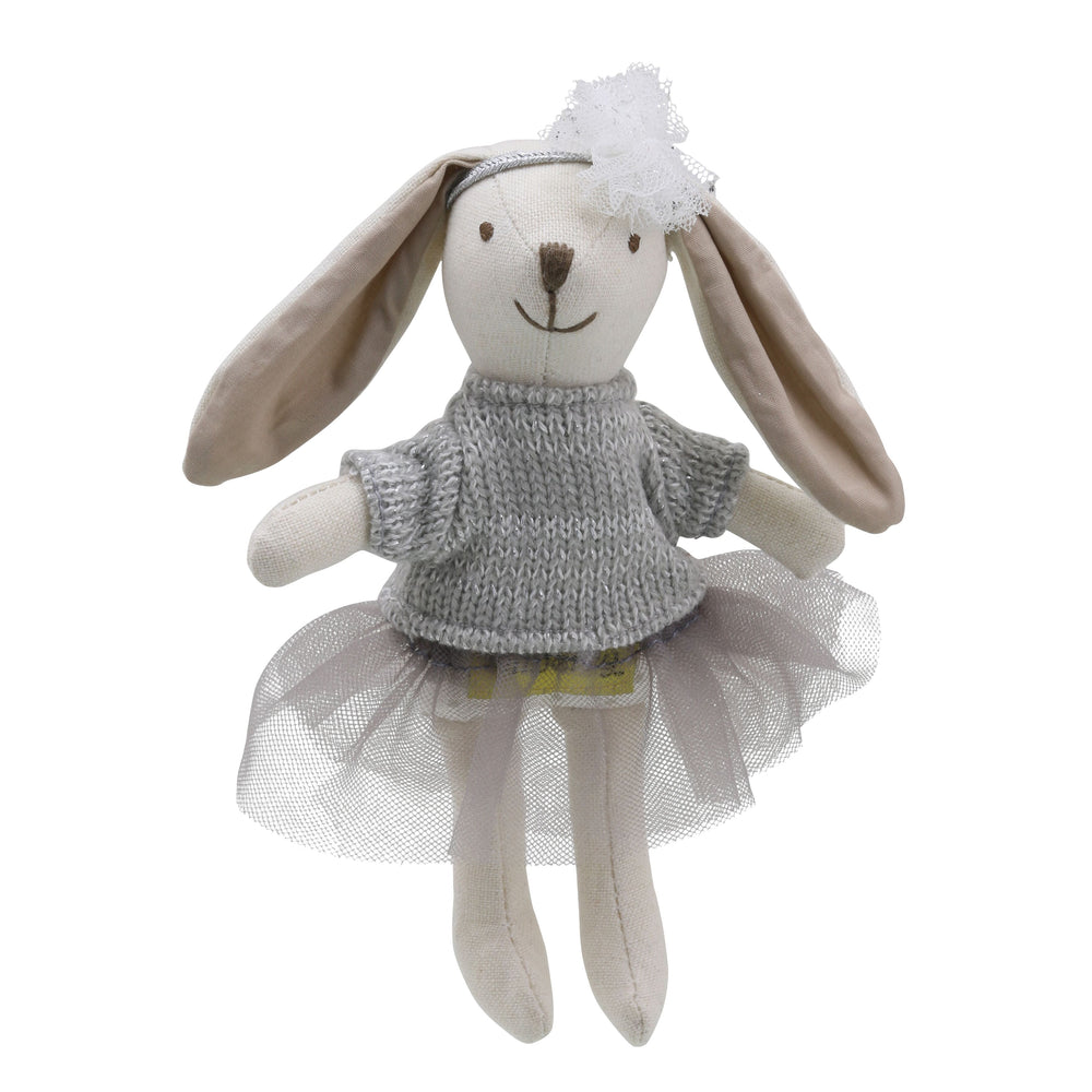 Wilberry Collectables - Rabbit girl grey
