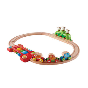 Load image into Gallery viewer, Hape - My Little Railway Set