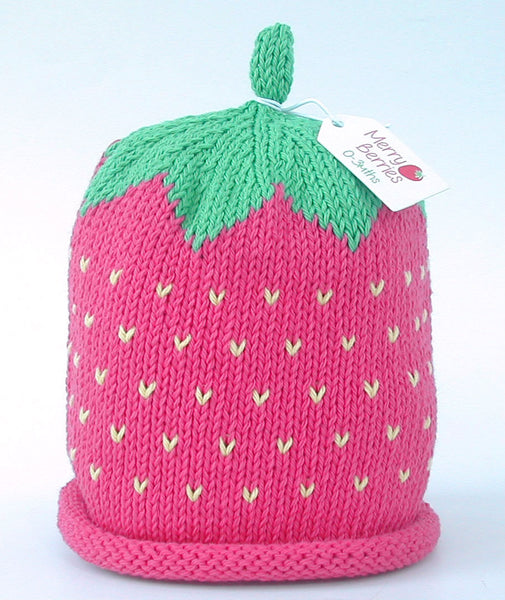 Merry Berries 'Raspberry' hat