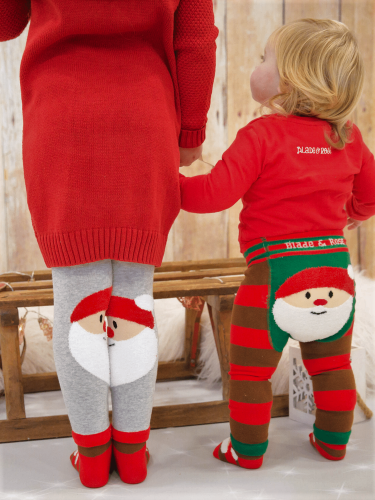 Load image into Gallery viewer, Blade and Rose - Junior Santa Leggings