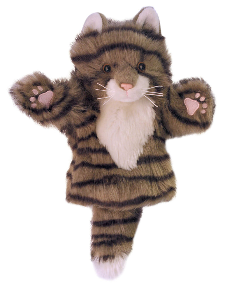 CarPet Glove Puppet - Tabby Cat