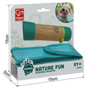 Load image into Gallery viewer, Hape - Nature Fun Adjustable Telescope