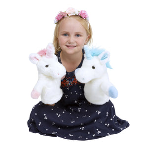 CarPet Glove Puppet - Pink Unicorn