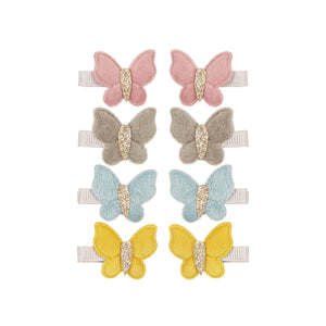 Mimi and Lula - Velvet Butterfly Clip Pack