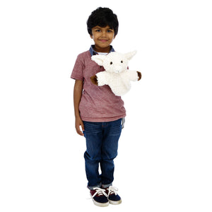 CarPet Glove Puppet - White Sheep